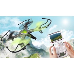 JJRC H9D 4CH 2.4G FPV RC Quadcopter 0.3MP camera 6-Axis Gyro FPV RC quadrotor professional drones electronic toys PRO