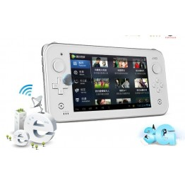 JXD S7300 7Inch dual Core Smart game console two Joystick Dual core Android 4.1 game videos MP5 Free shipping