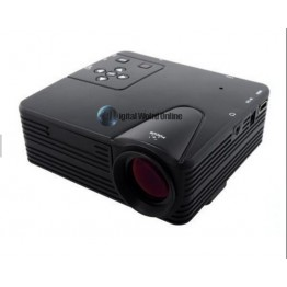 LZ-H80 LED Projector With HDMI AV/VGA/SD/USB Digital Video Projectors Multimedia Player Home Theater