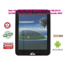 "Onn N6 8"" IPS 1024P Andorid 4.0  RK2918 GC800 1GBRam 8GB 3G Bluetooth WIFI"
