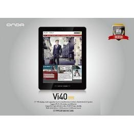 "Onda vi40 ELITE  2160P 9.7"" IPS Capacitive Tablet PC Allwinner A10 1GHz 1GB RAM ICS4.0"