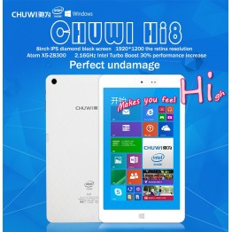 Chuwi Hi8 Pro dual system Windows 10 & Android 5.1  Tablet PC Intel Cherry Trail Z8300 Quad Core 8 Inch IPS  2GB DDR3 32GB eMMC