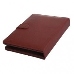 Keyboard with PU leather case for 7inches Tablet PC  Brown