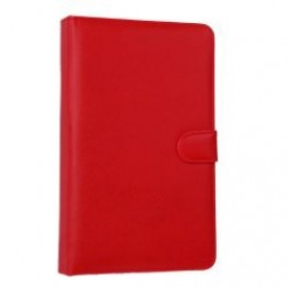 Keyboard with PU leather case for 7inches Tablet PC  RED