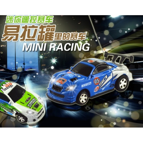 RC cars 8Colors MINI Coke Can Mini RC Radio Remote Control Micro Racing Car Vehicles Toy