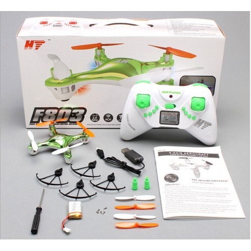 HT F803 F803C headless Mode Auto Return 3D 360 Degree Nano Quadcopter Helicopter Camera 4GB vs Drone x6 syma x5c-1