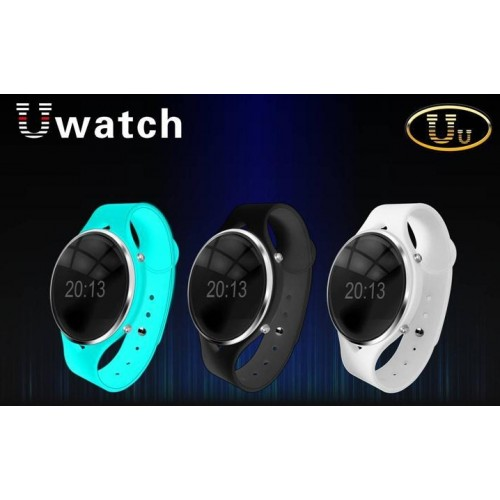 Unisex Fashion Uwatch Uu HD OLED Screen Life Waterproof Bluetooth Sports Wristwatch Smart Watch for ios Android BT Smart Phone