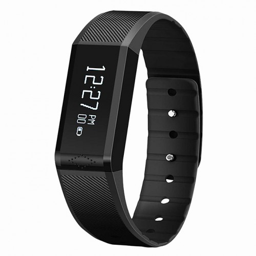 Vidonn X6 Bluetooth 4.0 IP65 Sleep Monitor,Caller ID & Message Display Smart Watch Plus Two Charge Cable
