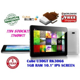 "Cube U30GT  10.1"" Android 4.0 RK3066 1GHz IPS Screen 1GB RAM"