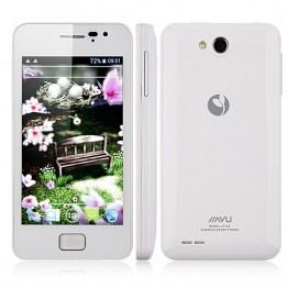 Jiayu G2 phone MTK6577 dual core 512MB android 4.0 GPS G2 4.0 IPS screen 8.0 MP camera(White color)