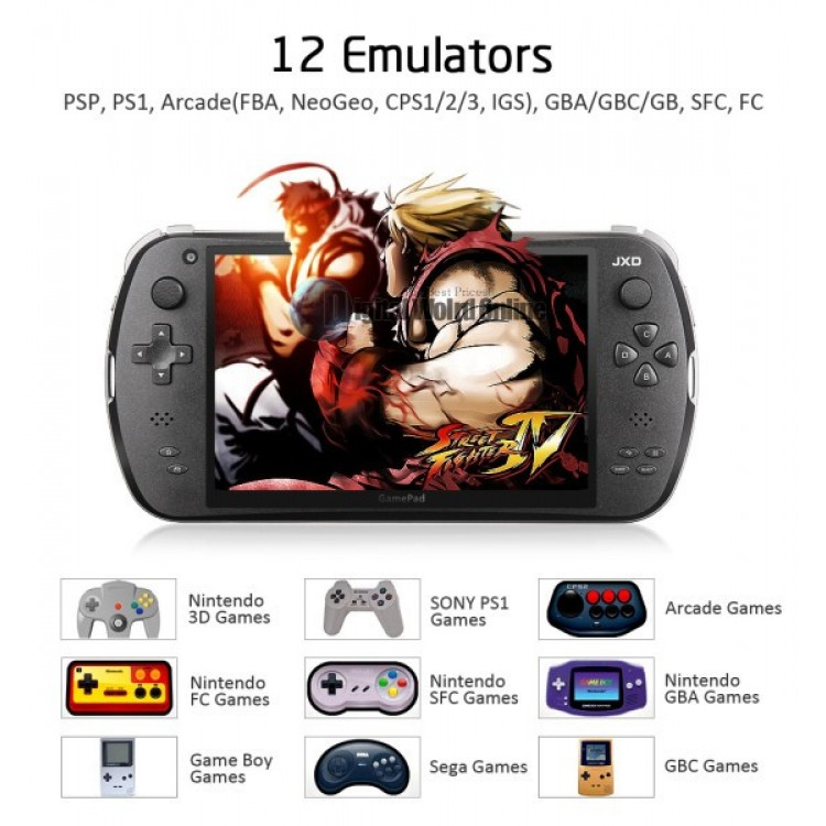 JXD S7800 game console RK3188 Quad core 1 8GHz 2GB RAM 8GB ROM dual camera  android 4 2 WIFI Double Speaker game pad wireless
