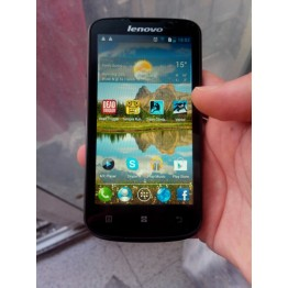 "Lenovo A800 Android phone4.5""inch IPS 5.0MP Camera 512MB RAM WIFI GPS Dual sim Dual-core 3G Smart phone"