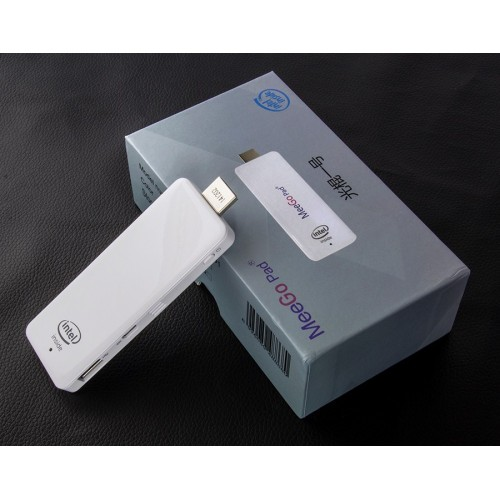 MeegoPad T01 Intel Stick Android & Windows 8 system Double OS 64 bit CPU intel 2 GB Ram 32GB Storage TV Box Mini PC