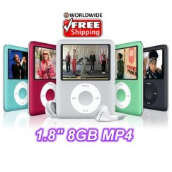 1.8 inch Flash MP4 Player