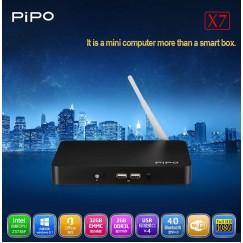 PIPO X7 Smart Mini PC windows 8.1 Intel Z3736F Quad Core 2GB/32GB Bluetooth 4.0 Wifi TV Box