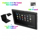 !!Offer !!NEW 7 inch allwinner a13 cpu mali400 gpu android 4.0 Capacitive 512mb ram  4GB Camera WIFI  with gift set