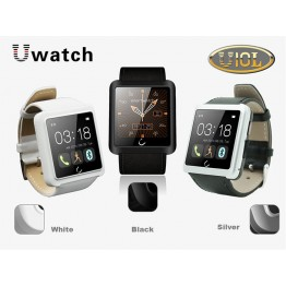 U10L Bluetooth Smart Watch Smartwatch U Sports Wristwatch For iPhone 5/6 Samsung IOS Android Phone SMS Sync E-compass Take Photo