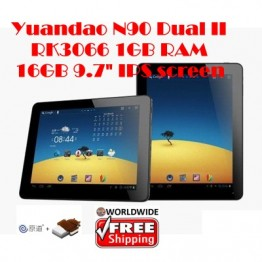 "Yuandao N90 Dual II 9.7"" Android 4.0 RK3066 1GHz IPS Screen 1GB RAM"