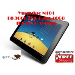 "Yuandao N101 Dual II 10.1"" Android 4.0 RK3066 1GHz IPS Screen 1GB RAM"